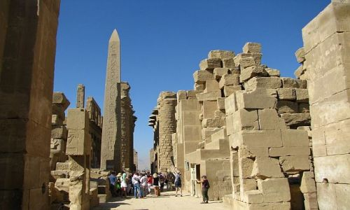 Zdjecie EGIPT / Górny Egipt / Karnak / Świątynia Amona