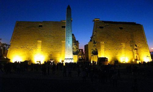 Zdjęcie EGIPT / Górny Egipt / Luxor / Świątynia w Luxorze
