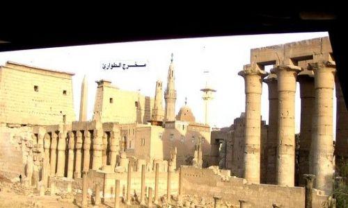 Zdjecie EGIPT / płn-wsch Afryka / starożytne Teby  / Świątynia  Luxorska