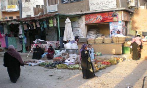 Zdjecie EGIPT / południe / Asuan / Uliczny handel