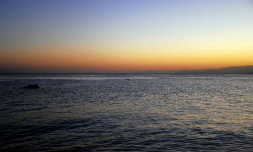 Zdjęcie EGIPT / Taba  / plaza / morze jak morze