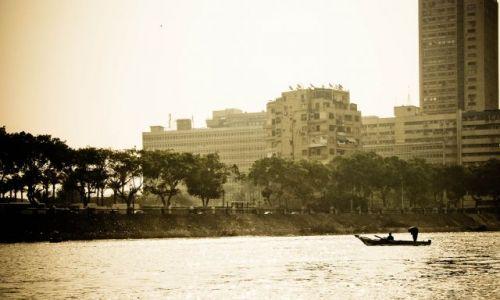 Zdjęcie EGIPT / Nil / Kair / Rybacy