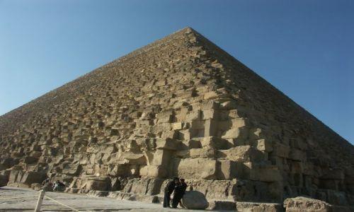 Zdjecie EGIPT / brak / giza / w cieniu piramid