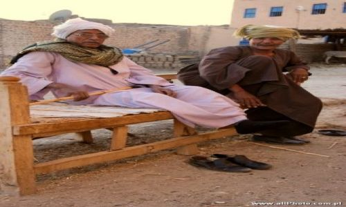 Zdjecie EGIPT / brak / Luxor / People of Gurnat Mura'i