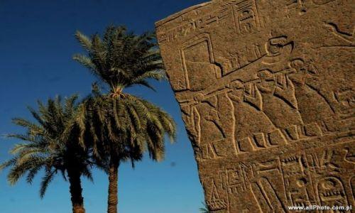 Zdjecie EGIPT / brak / Luxor / Karnak