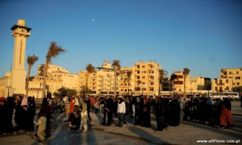 Zdjecie EGIPT / brak / Luxor / on the way to Abu al-Haggaga Mosque, Luxor