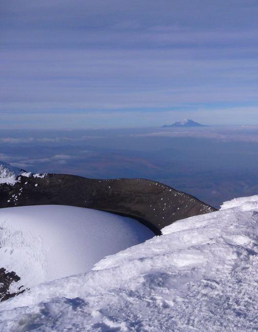 Zdjęcia: Cotopaxi, Cotopaxi, Krater  Cotopaxi 5800npm, EKWADOR