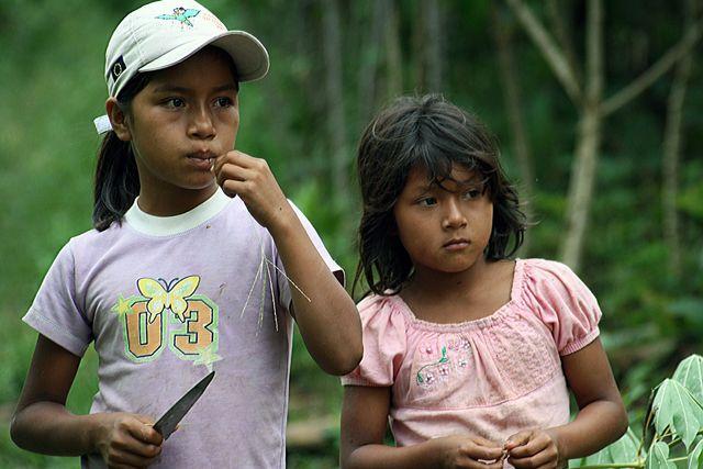 Zdjęcia: dżungla, dzieciaki, EKWADOR