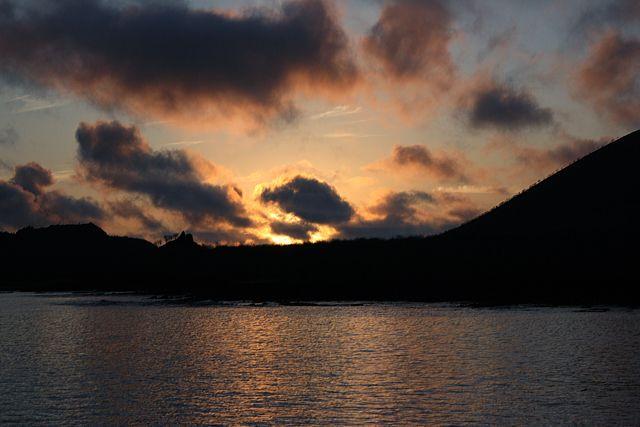 Zdj�cia: Galapagos, wsch�d s�o�ca, EKWADOR
