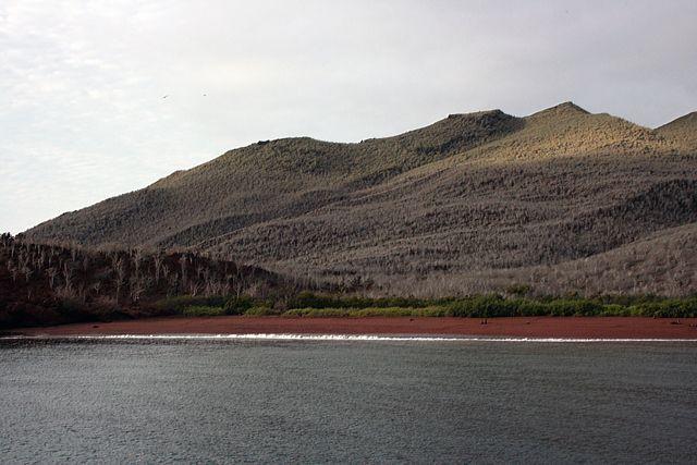 Zdj�cia: Galapagos, czerwona wyspa, EKWADOR
