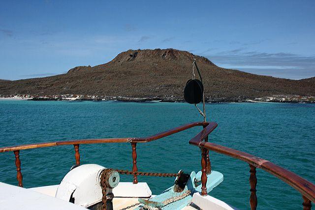 Zdj�cia: Galapagos, chi�ski kapelusz - wulkan, EKWADOR
