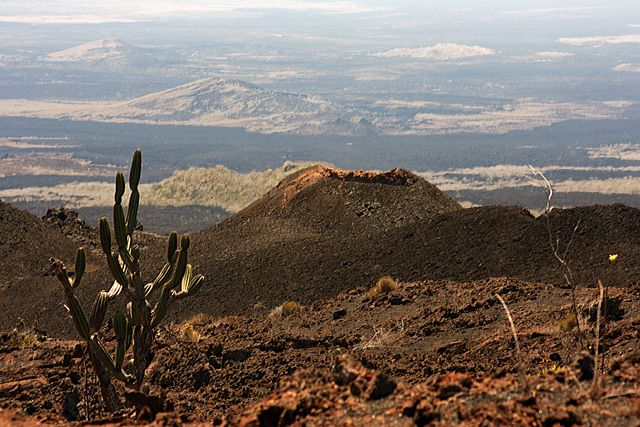 Zdj�cia: Galapagos, krajobraz wysp wulkanicznych, EKWADOR