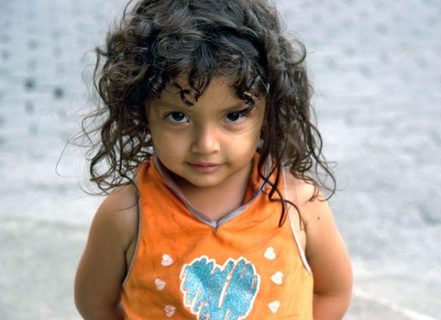 Zdjęcia: BANIOS, Dzieczynka z Banios, EKWADOR