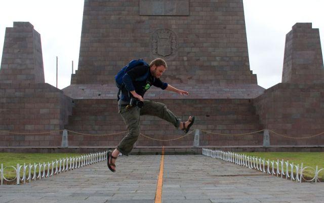 Zdjęcia: RÓWNIK, Skok na dugą półkule, EKWADOR