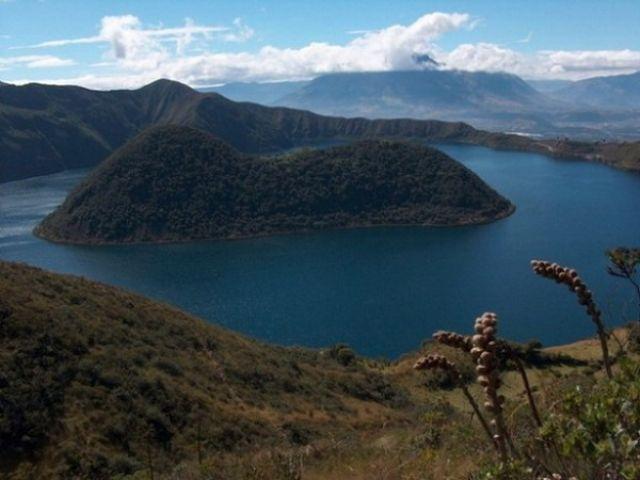 Zdjęcia: Okolice wsi Cotacachi, Laguna Cuicocha - Jezioro Świnki morskiej, EKWADOR
