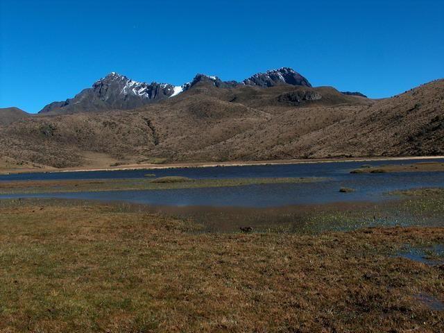 Zdjęcia: Park Narodowy Cotopaxi, Jezioro Limpiopungo, EKWADOR