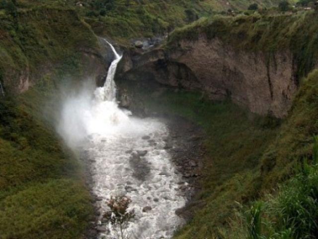 Zdjęcia: Okolice Bańos, Wodospad na rzece Pastaza, EKWADOR
