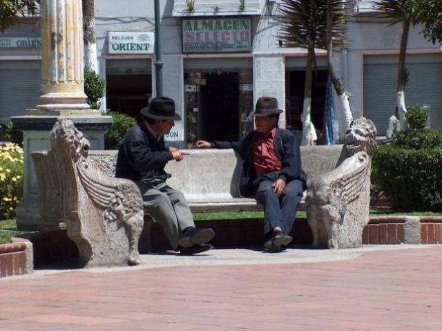 Zdjęcia: Riobamba, Parque Sucre, EKWADOR