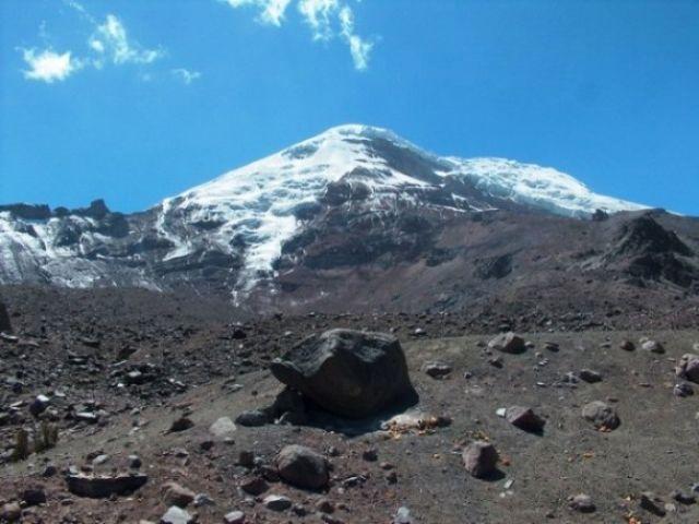 Zdj�cia: Rezerwat Chimborazo, Wulkan Chimborazo 6310m n. p. m., EKWADOR