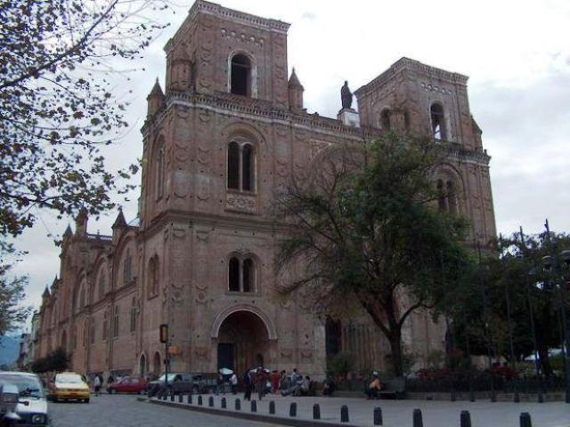 Zdjęcia: Cuenca, Nowa katedra w Cuence, EKWADOR