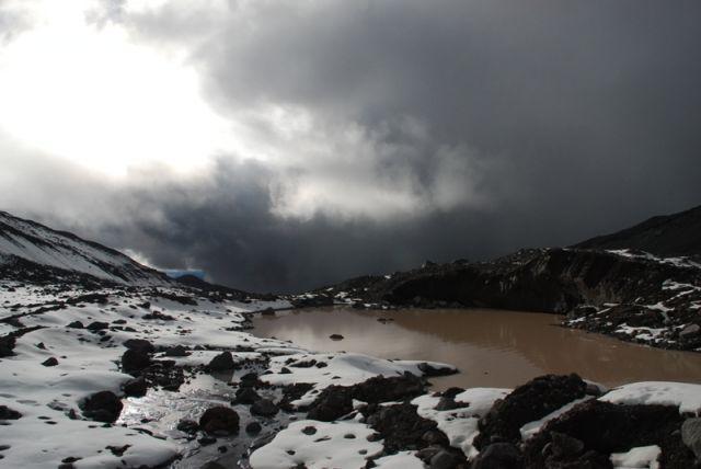 Zdjęcia: Antisana, Ekwador,  spacer na lodowiec- Antisana, EKWADOR
