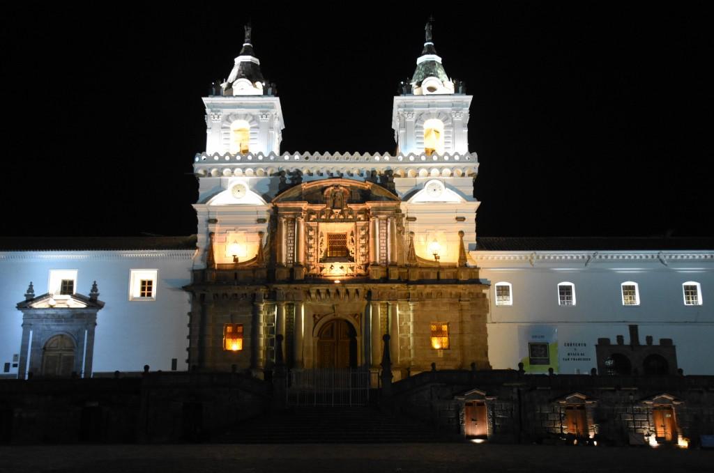 Zdjęcia: Stare miasto, Quito, Monasterio de San Francisco, EKWADOR