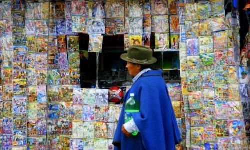 Zdjęcie EKWADOR / OTAVALO / OTAVALO / Sklep z płytami