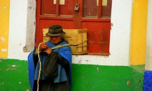 Zdjęcie EKWADOR / OTAVALO / OTAVALO / Plecak