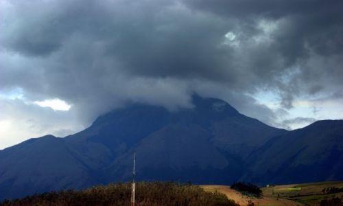 Zdjęcie EKWADOR / Otavalo / Otavalo / Wulkan  w okolicy  Otavalo