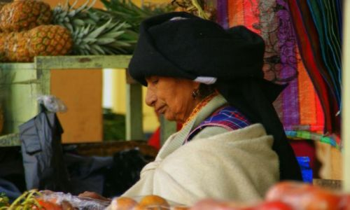Zdjęcie EKWADOR / Otavalo / Otavalo / Otavalo