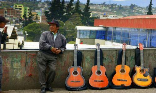 Zdjęcie EKWADOR / Quito / Quito / No  i  gitara