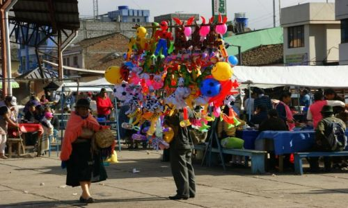 Zdjęcie EKWADOR / Latacunga / Latacunga / Bazar