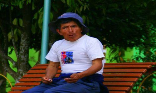Zdjęcie EKWADOR / Paio / Paio / Na  ławeczce