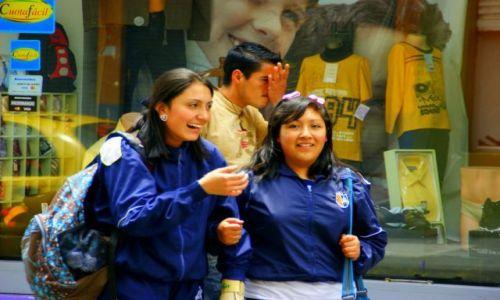 Zdjecie EKWADOR / Riobamba / Riobamba / Spacer