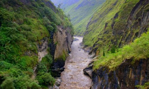 Zdjecie EKWADOR / Riobamba / Riobamba / Kanion