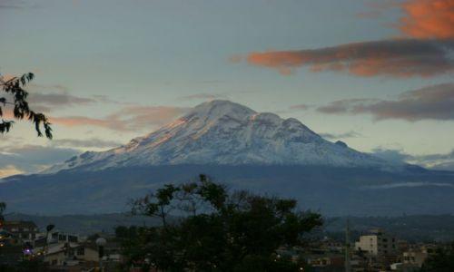 Zdjecie EKWADOR / Riobamba / Riobamba / Riobamba  Chimborozo