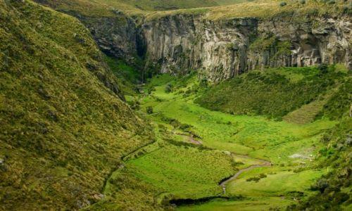 EKWADOR / Riobamba / Riobamba / Dolina
