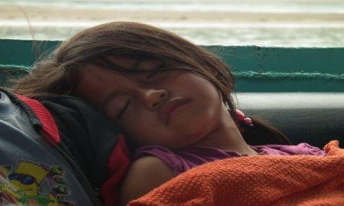 Zdjecie EKWADOR / Orellana / Rio Napo / Męcząca wielogodzinna podróż łodzią