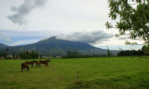 Zdjecie EKWADOR / Iberra / Iberra / wulkan