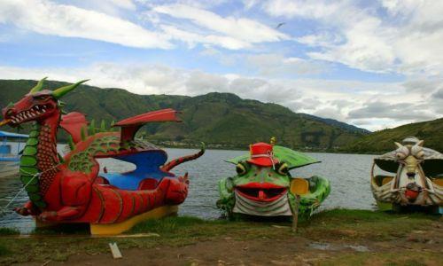 Zdjęcie EKWADOR / Iberra / Iberra / Pojazdy  wodne