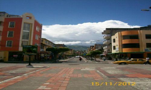 Zdjęcie EKWADOR / Quito Canton / Banos / Uliczka w banos