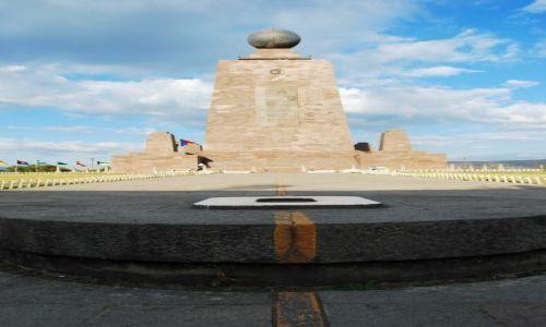 Zdjecie EKWADOR / Quito / Quito / Mitad del Mundo