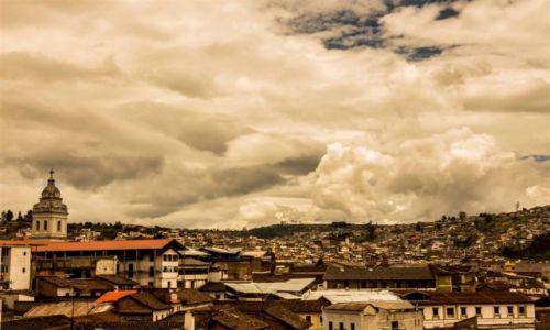 Zdjecie EKWADOR / - / Quito / Na dachu świata