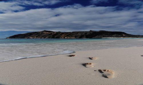 Zdjęcie EKWADOR / Galapagos / San Cristóbal / Stopy