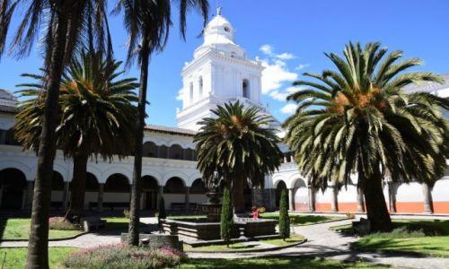 Zdjecie EKWADOR / Quito / Stare miasto / Monasterio de San Augustin