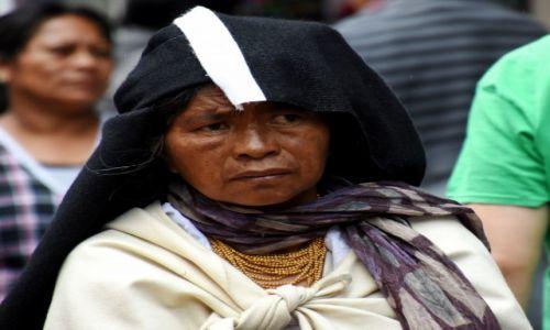 Zdjęcie EKWADOR / północny Ekwador / Otavalo / Na targu