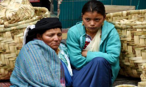Zdjęcie EKWADOR / północny Ekwador / Otavalo / Handel koszami