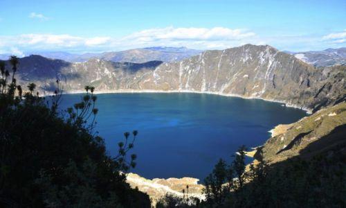 Zdjęcie EKWADOR / Andy / Andy  / Jezioro Quilotoa