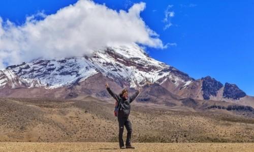 Zdjecie EKWADOR / - / Chimborazo / Aklimatyzacja