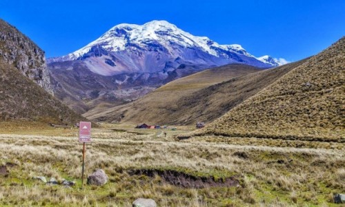 Zdjecie EKWADOR / - / Chimborazo / Piękne Chimborazo